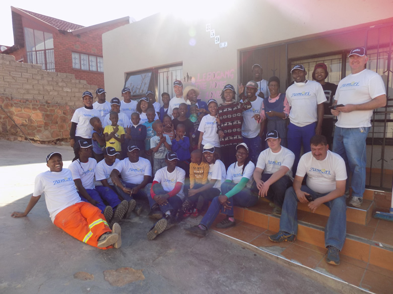 Lebogang Orhpanage Centre Manadela Day Project